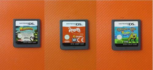 Lote X3 Juegos Originales Para Nintendo Ds