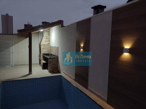 Sobrado Com 2 Dormitórios À Venda, 57 M² Por R$ 229.000,00 - Maracanã - Praia Grande/sp - So0068