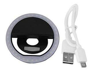 Selfie Sg11 Preto Ring Light 36 Anel Led Flash Celular