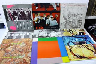 Lp - Coleção Completa Titas 9 Discos