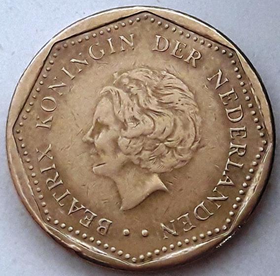 Antillas Holandesas Moneda De 5 Gulden Del Año 1999 - Xf