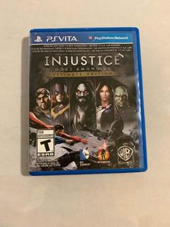 Injustice Gods Among Us Ps Vita