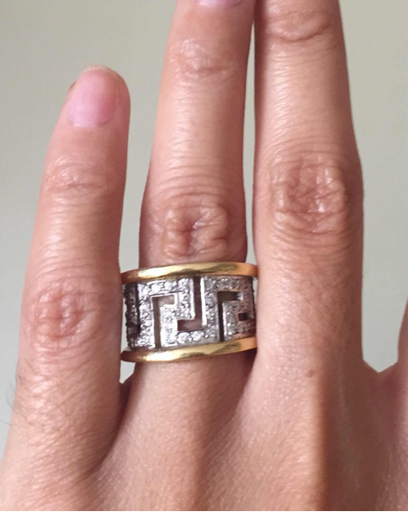 Walk-in - Anillo Oro 18k 16g Diamantes, Brillante Compromiso