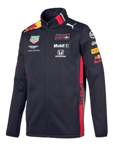 Chamarra Softshell Red Bull Aston Martin Equipo **2019**