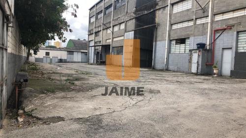 Galpão De 4537m² - Ja596
