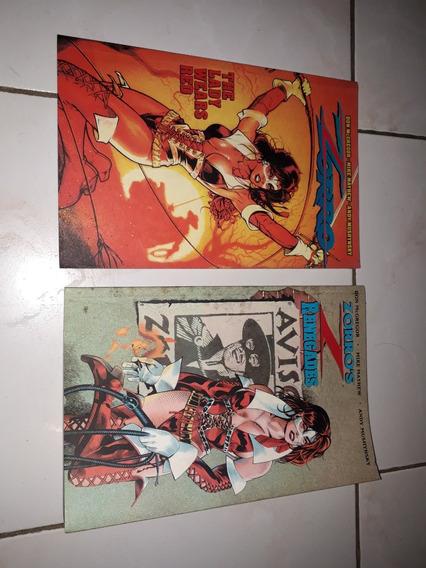 Lote Com 2 Edições Encadernadas Do Zorro Em Inglês