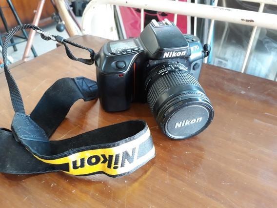 Máquina Fotográfica Nikon F70 Analógica