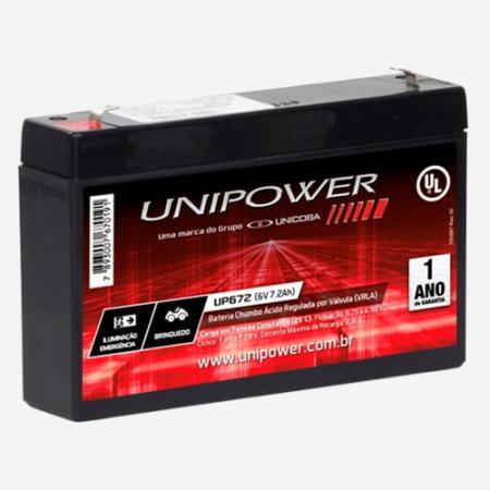 Bateria Selada 6v 7.2ah - Brinquedos Eletricos, Carro E Moto