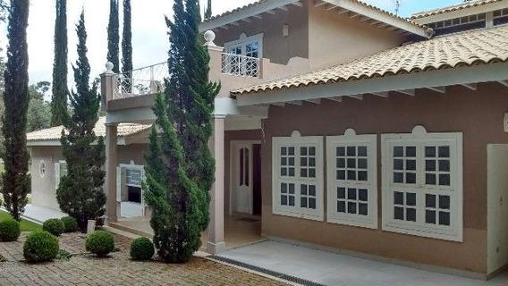 Casa De Alto Padrão Em Condomínio Fechado, Na Cidade De Itu