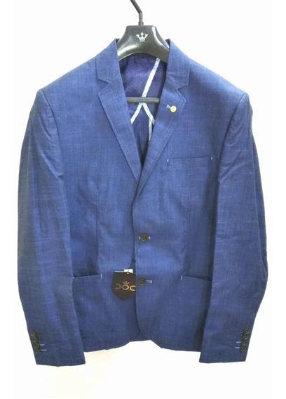 Blazer Docthos Azul 14440 Acetinado 48, 44, 42