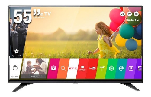 Imagen 1 de 2 de Televisor LG De 55 Fhd, Smart Tv Con Webos 3.0 -sellado