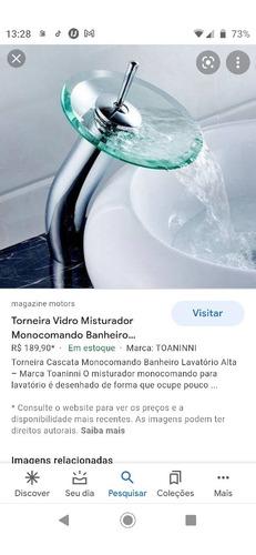 Vendo Torneira De Vidro