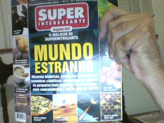 Revista Super Int. Especial Mundo Estranho