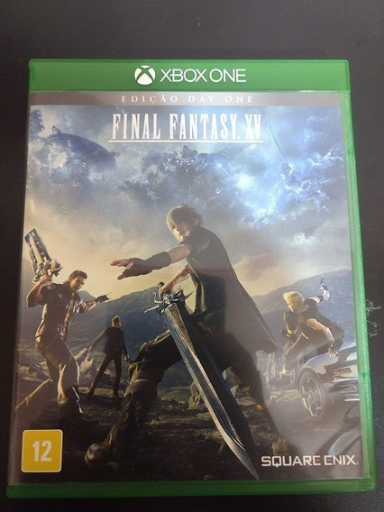 Final Fantasy Xv 15 Xbox One Mídia Física Original Perfeito