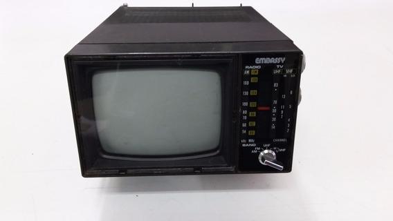 Tv Portátil Com Rádio Am/fm