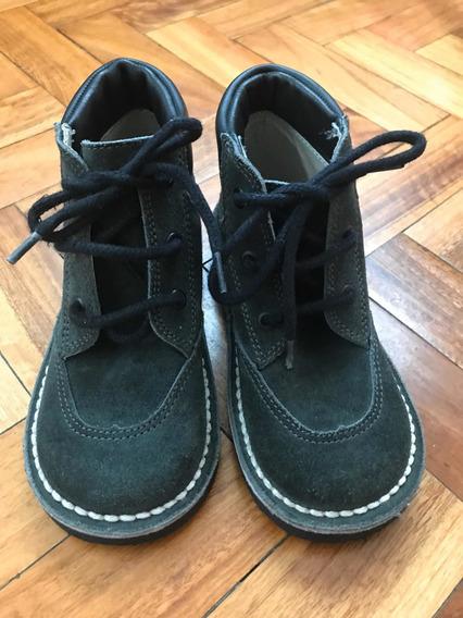 Zapatos De Gamuza De Varón Talle 28 (impecables)