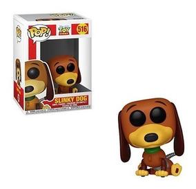 Disney Toy Story Boneco Pop Funko Slinky Dog #516