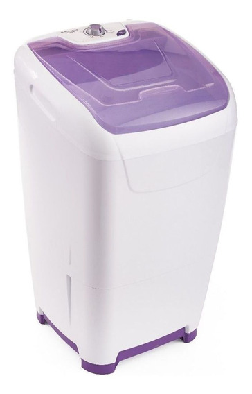 Lavarropas semiautomático Columbia LSC 10000 blanco y violeta 10kg 220V