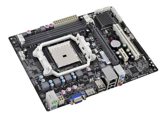 Placa Mae Amd A55f-m4 Socket Fm1 - Garantia