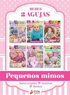 Bebés 2 Agujas Pequeños Mimos (6 Revistas)