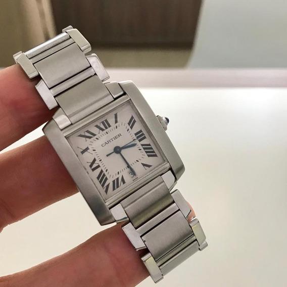 Cartier Tank Française Xl Automatic Impecável