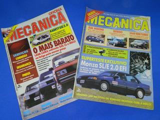 Lote De Revistas Oficina Mecânica, 1988-1998, Intercalados