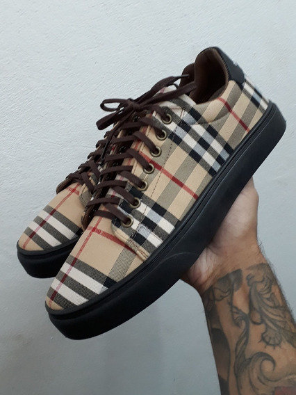 Slip On Burberry Tenis Frete Gratis Shoes +brinde
