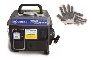 Guantes Y Generador Portátil Motomel M1000 800w Monofásico