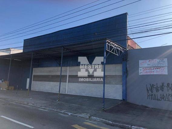 Salão 528,70 M² Para Locação - Vila Flórida - Guarulhos - Sp - Sl0062