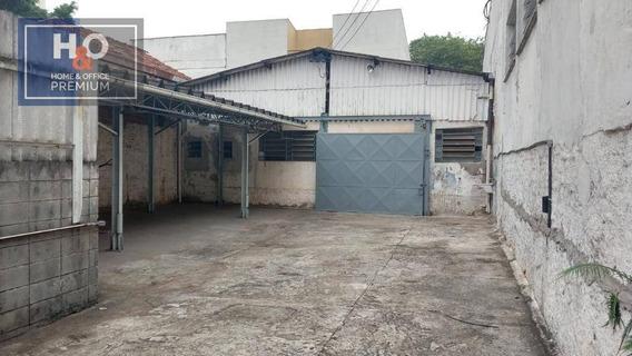Galpão P/ Alugar, 209 M² R$ 5.000/mês - Ipiranga - São Paulo/sp - Ga0149
