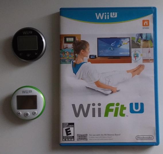Wii Fit U + Balança + 2 Wii Fit Meters