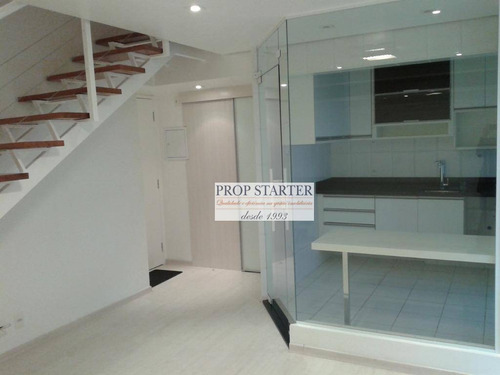 Imagem 1 de 26 de Apartamento Duplex Com 1 Dormitório À Venda, 57 M² Por R$ 850.000 - Vila Madalena - Prop Starter Adm. Imóveis - Ad0032