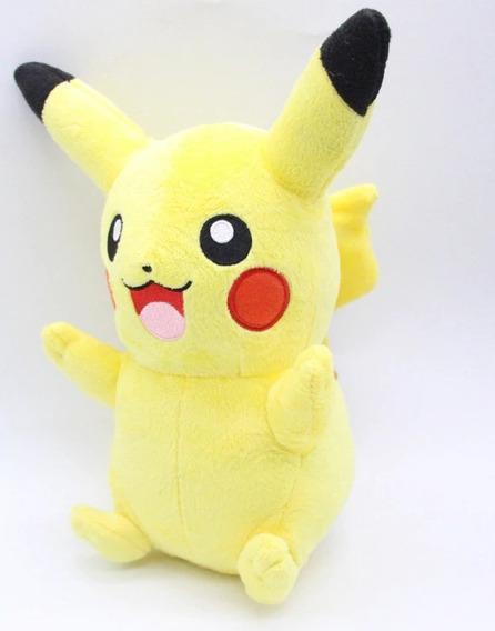 Urso Pelucia Namorada - Pikachu Pokémon Go