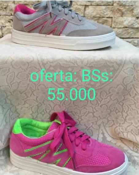 Zapato Oferta Deportivo De Dama Talla 36 Al 40