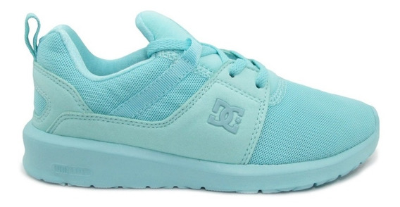 Tenis Dc Shoes Heathrow Adjs700021 Mnt Mint Menta