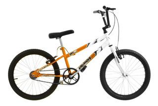 Bicicleta Aro 20 Rebaixada Laranja E Branca Pro Tork Ultra
