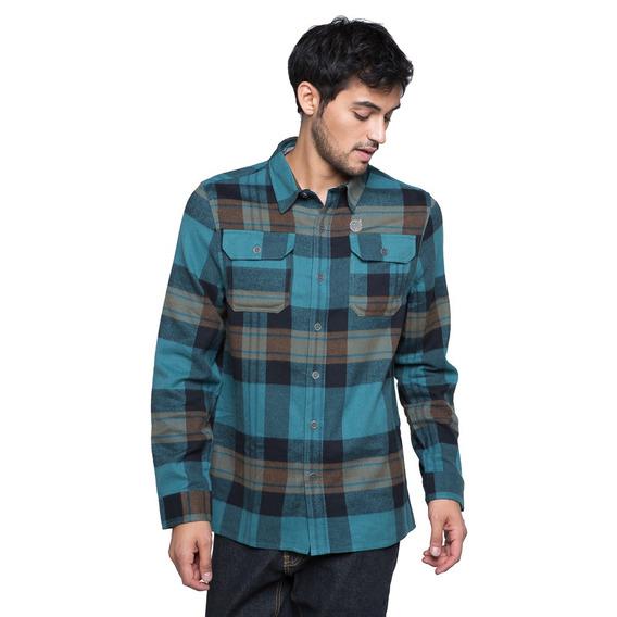 Camisa Hombre Hachazo Petróleo Haka Honu