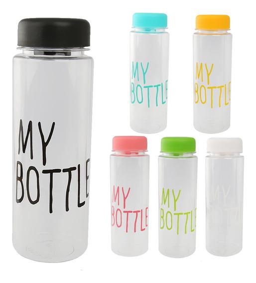 500ml Botella De Plástico Botella De Agua Reutilizable Taza