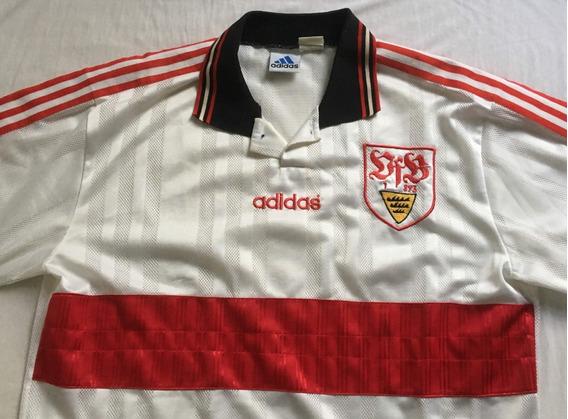 Camisa Stuttgart adidas 1996 1997 Nova
