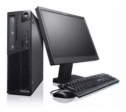 Computadora Completa Dual Core -4gb - Monitor 17 -wifi