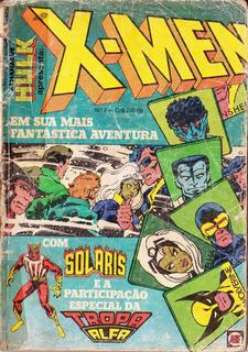 X-men 9, Gibi, Rge, 1982, 100 Pag, Cor R$ 52 Frete Incluso