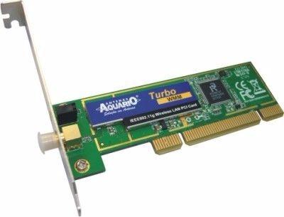 Placa Wireless 2.4ghz Pci-2418 - Ieee 802.11g/b - Aquario