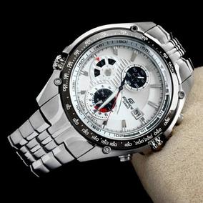 Relógio Casio Edifice Ef-543d Fundo Branco Sebastian Vettel