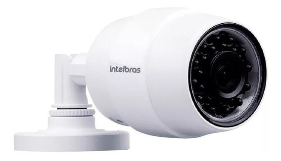 Câmera De Segurança Intelbras Mibo Ic5 Wifi Ip Hd Externa