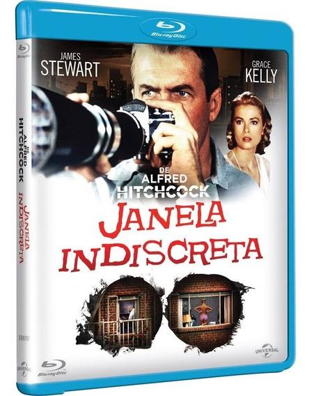Janela Indiscreta Bluray Original Lacrado Alfred Hitchcock
