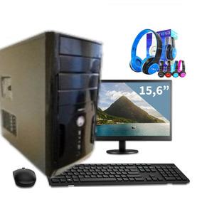 Pc Amd 64 Athlon X2 +2000 Jogos Brinde/mouse Wireless +phone