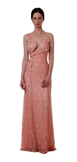 Vestido Longo Renda Casamento Madrinha Festa Elegante