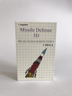 Missile Defense 3d Cartucho Jogo Para Master System + Brinde