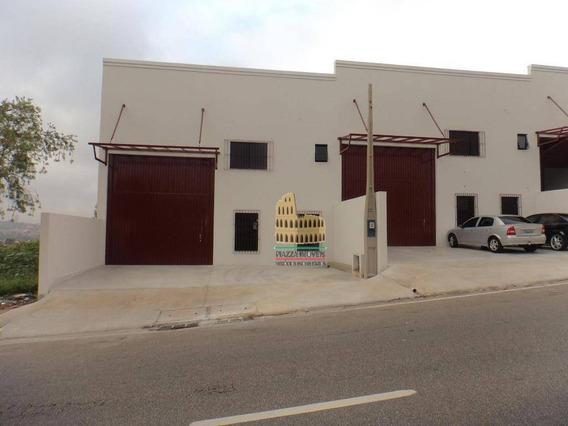 Barracão Para Alugar, 260 M² Por R$ 3.200,00/mês - Parque Dos Eucaliptos - Sorocaba/sp - Ba0008