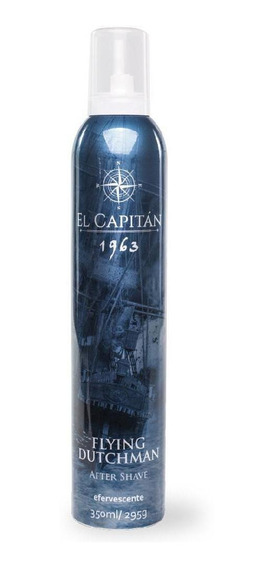 Pós Barba Efervescente Flying Dutchman 350ml El Capitán